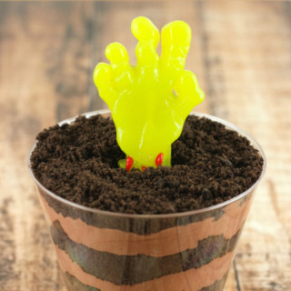 Zombie Dirt cake Cups