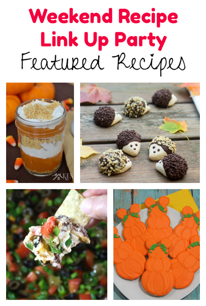 Weekend Recipe Link Up Party featured recipes 84