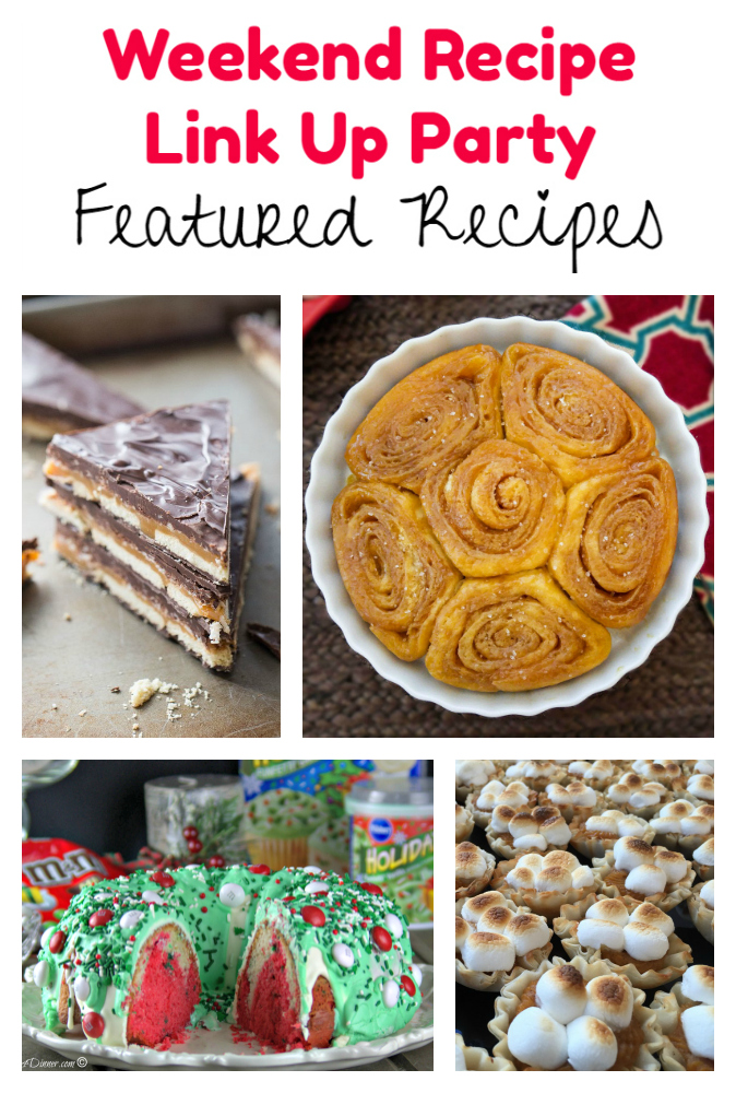 Weekend Recipe Link Up Party featured recipes 88