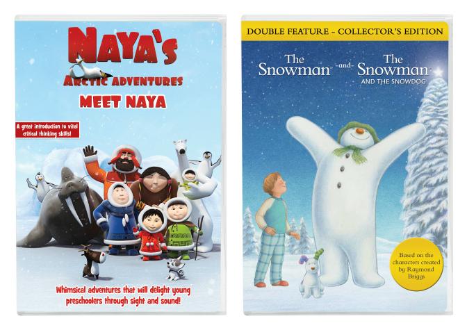 Naya and Snowman