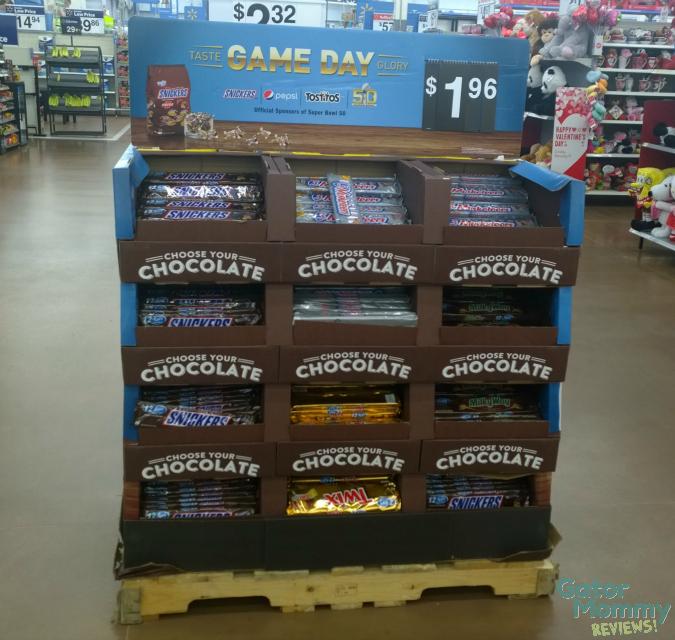 Walmart candy display