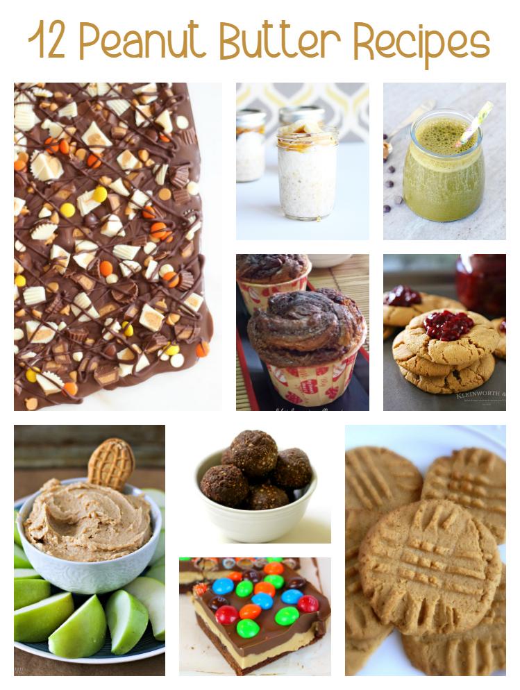 12 Peanut Butter Recipes