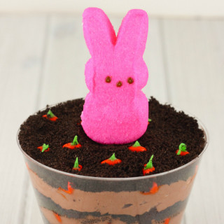 Carrot Patch Dirt cake Cups