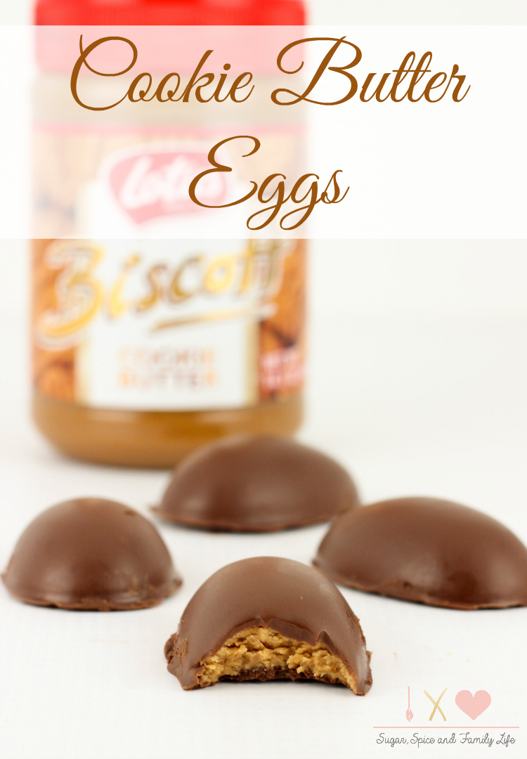 Cookie Butter Eggs
