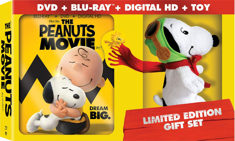 The Peanuts Movie Gift Set