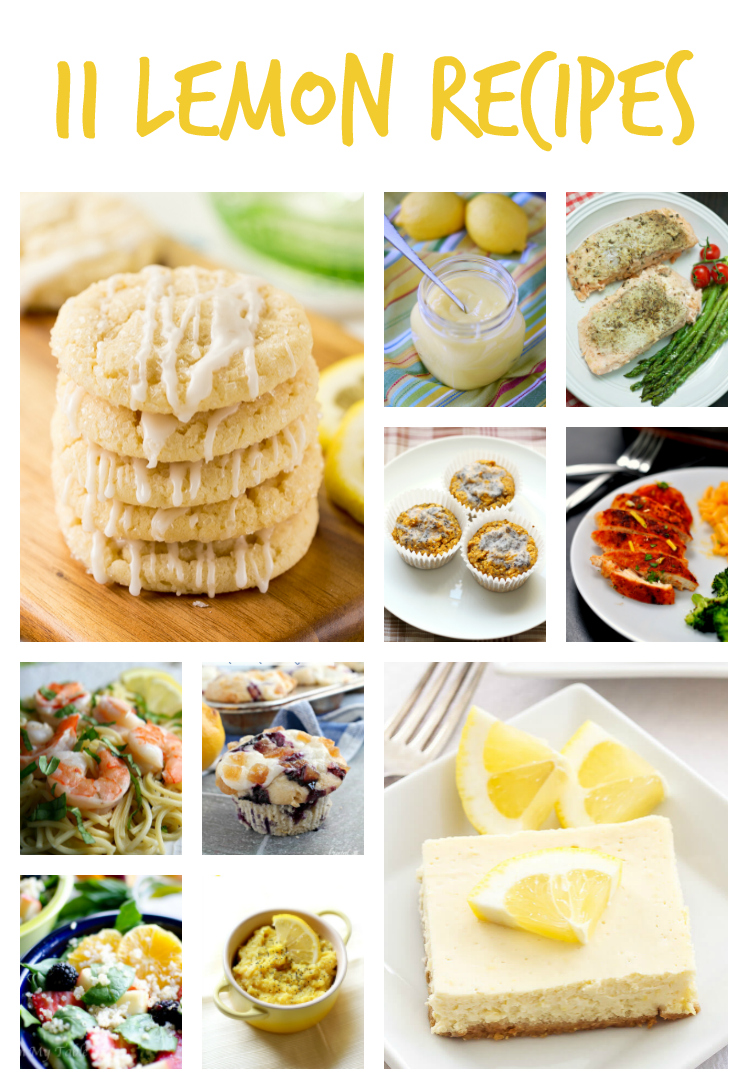 11 Lemon Recipes