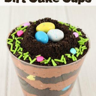 Bird Nest Dirt Cups