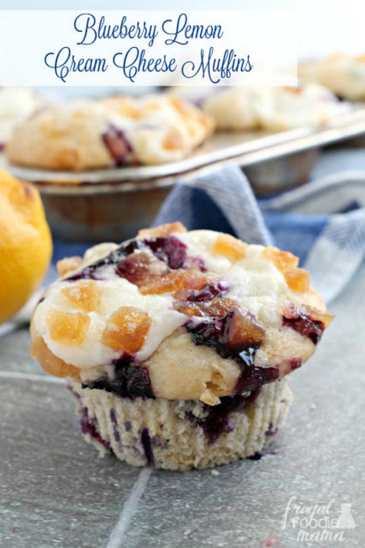 Blueberry-Lemon-Cream-Cheese-Muffins