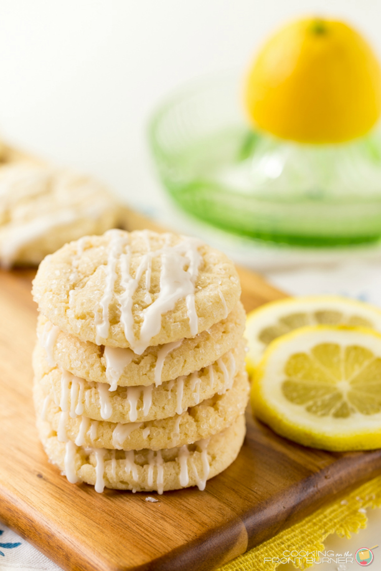 Lemon Sugar Cookie with Glaze