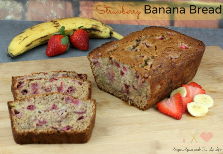 Strawberry-Banana-Bread