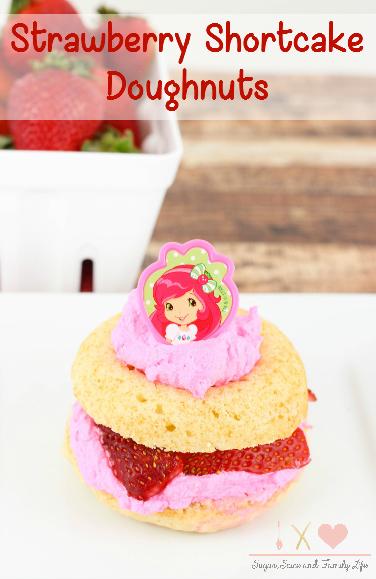 Strawberry Shortcake Doughnuts
