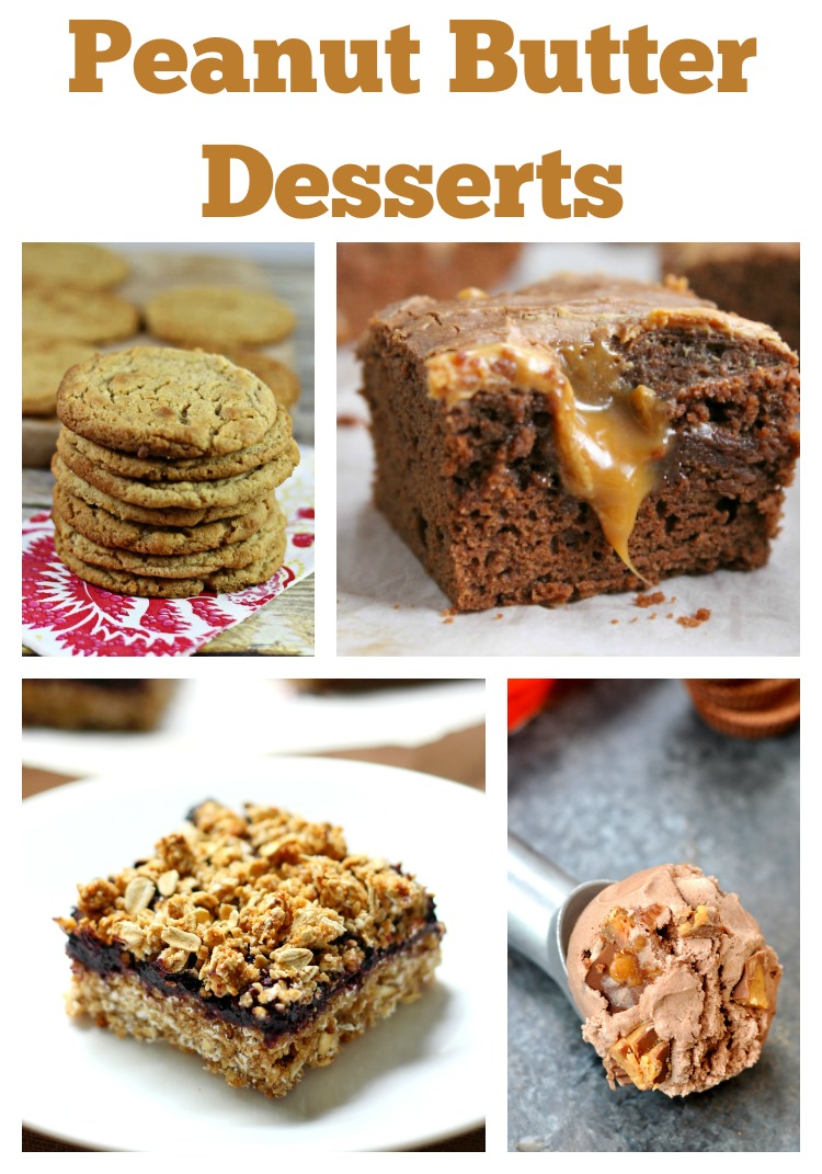 Peanut Butter Desserts