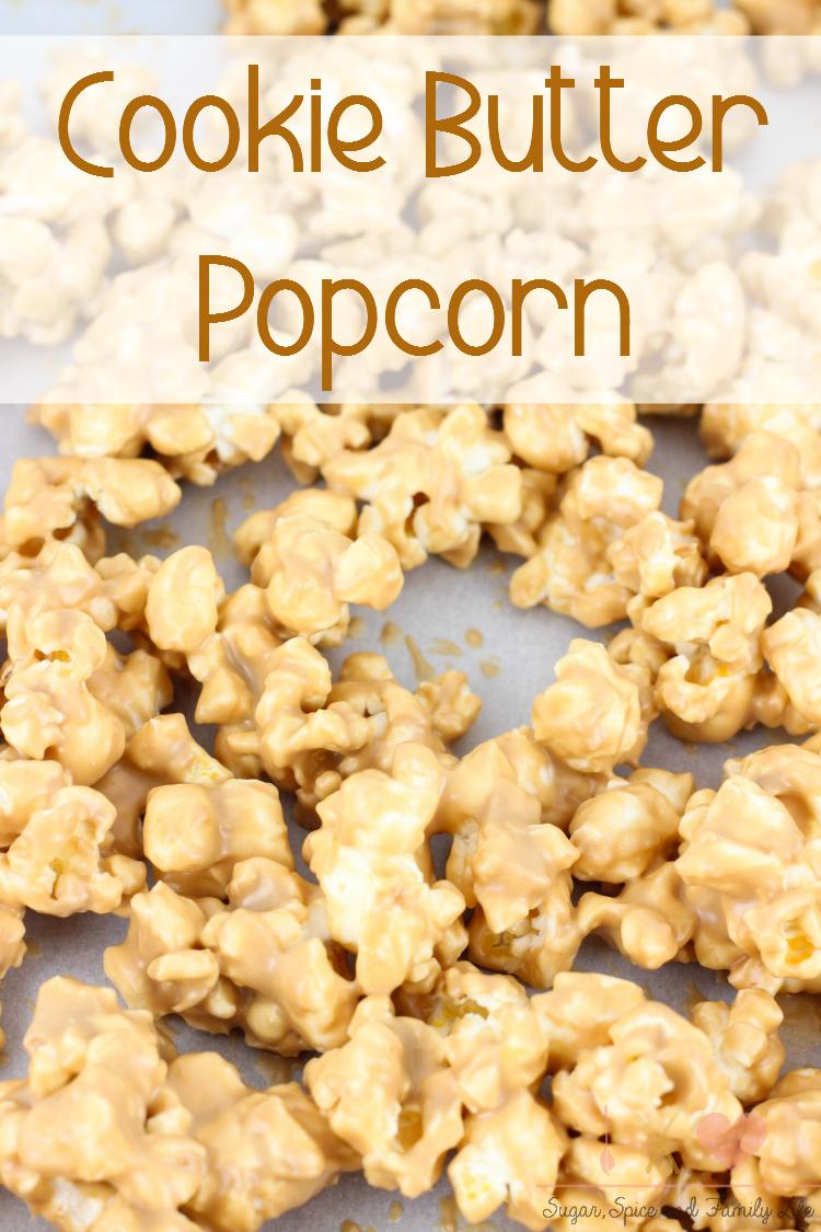 Cookie Butter Popcorn
