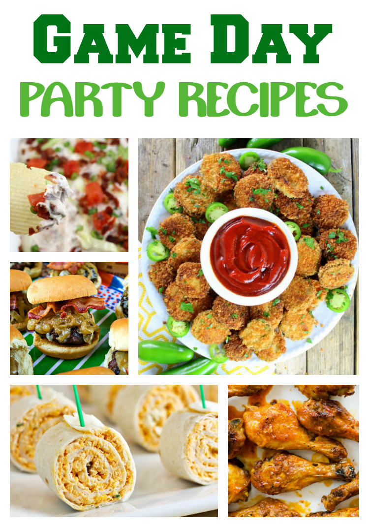 28 Game Day Party Recipes Sugar Spice And Family Life