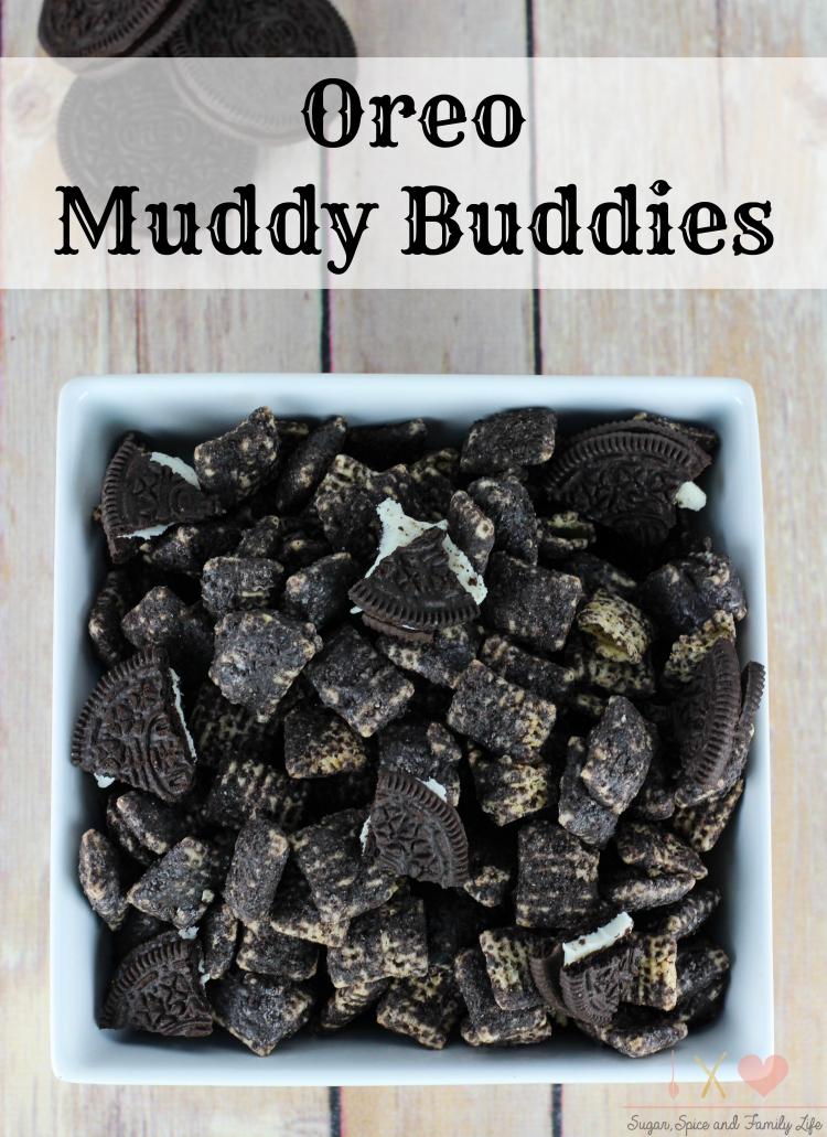 Oreo Muddy Buddies Recipe