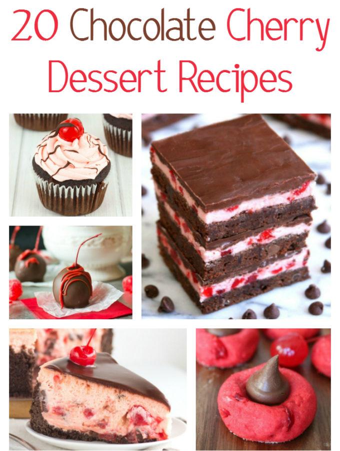 20 Chocolate Cherry Dessert Recipes