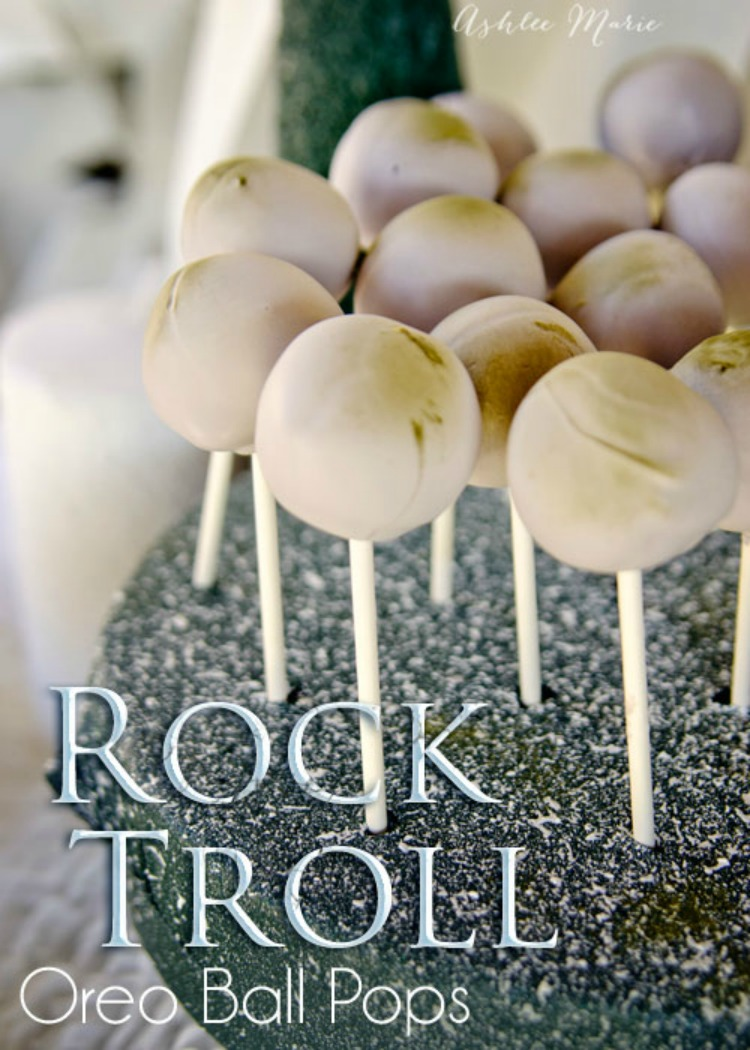 Rock Troll Oreo Cookie pops