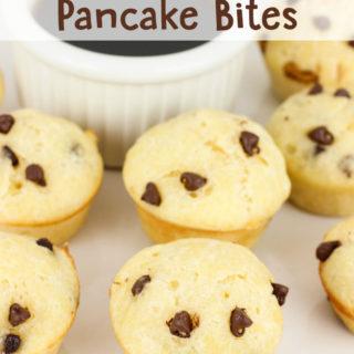 Chocolate Chip Pancake Bites
