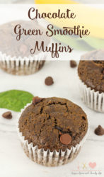 Chocolate Green Smoothie Muffins Recipe