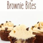 Chocolate Chip Cookie Dough Brownie Bites