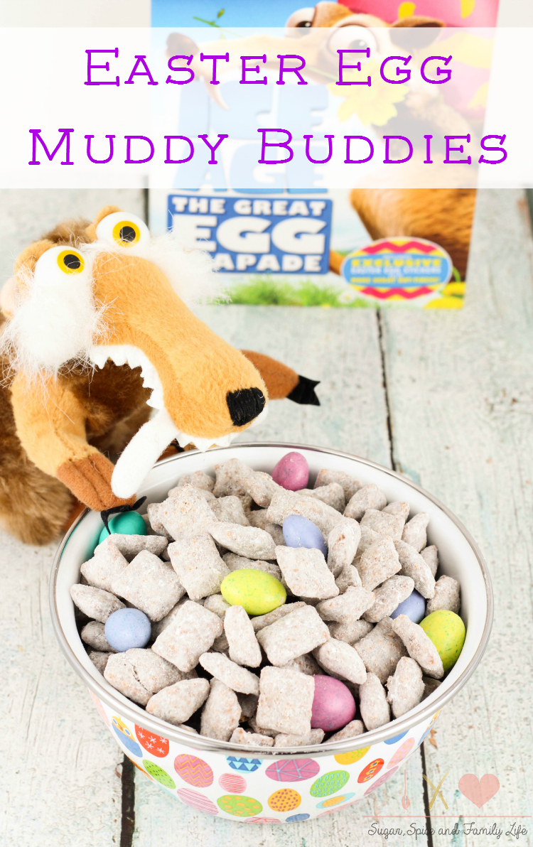 Easter Egg Muddy Buddies