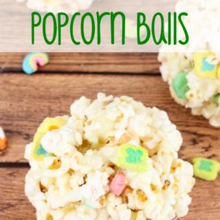 Lucky Charms Popcorn Balls