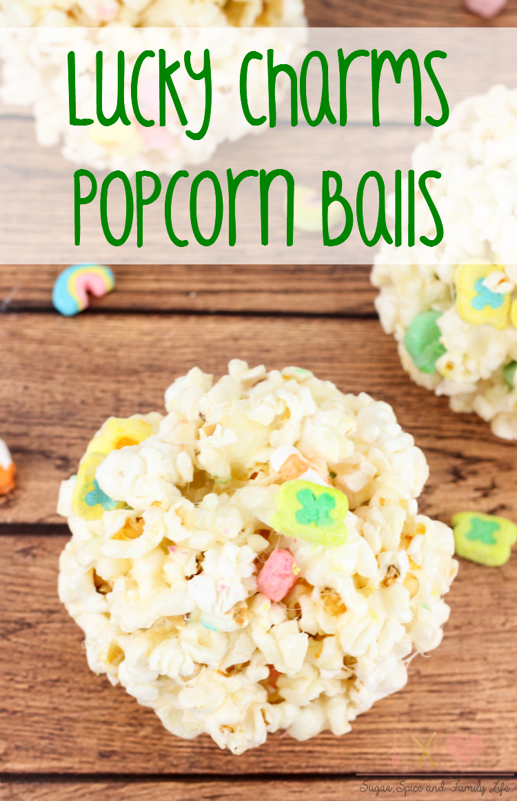 Lucky Charms Popcorn Balls