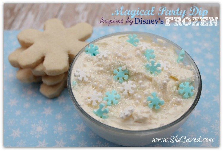 MAGICAL PARTY DIP INSPIRED BY DISNEY'S FROZEN