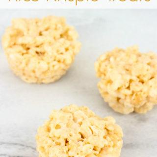 Mini Rice Krispie Treats