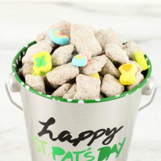 St. Patrick's Day Muddy Buddies