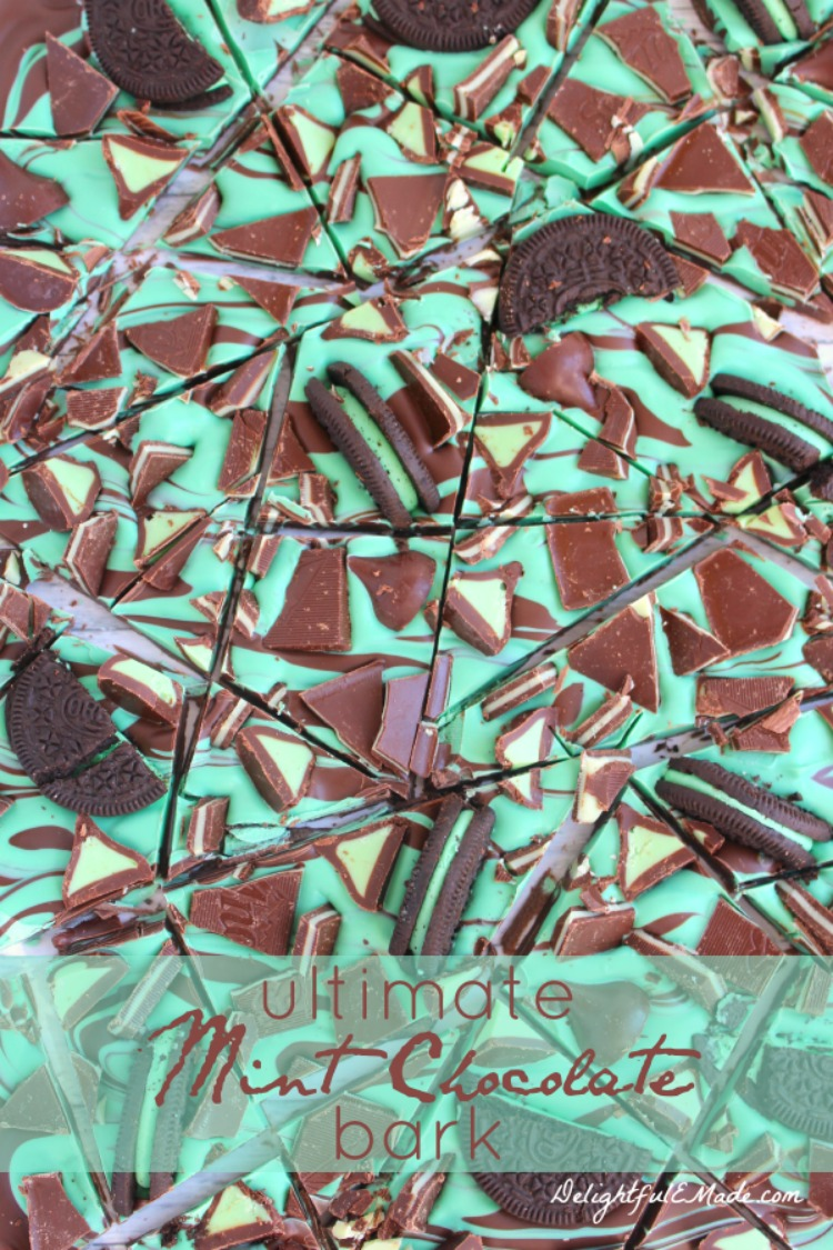 Ultimate Mint Chocolate Bark