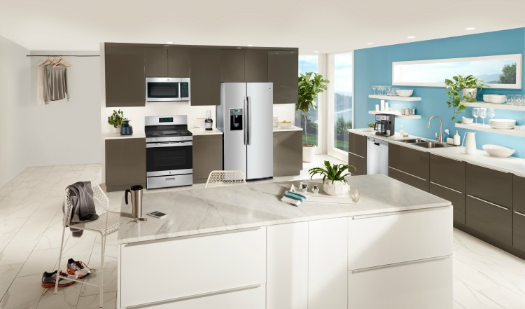 GE Contemporary Kitchen