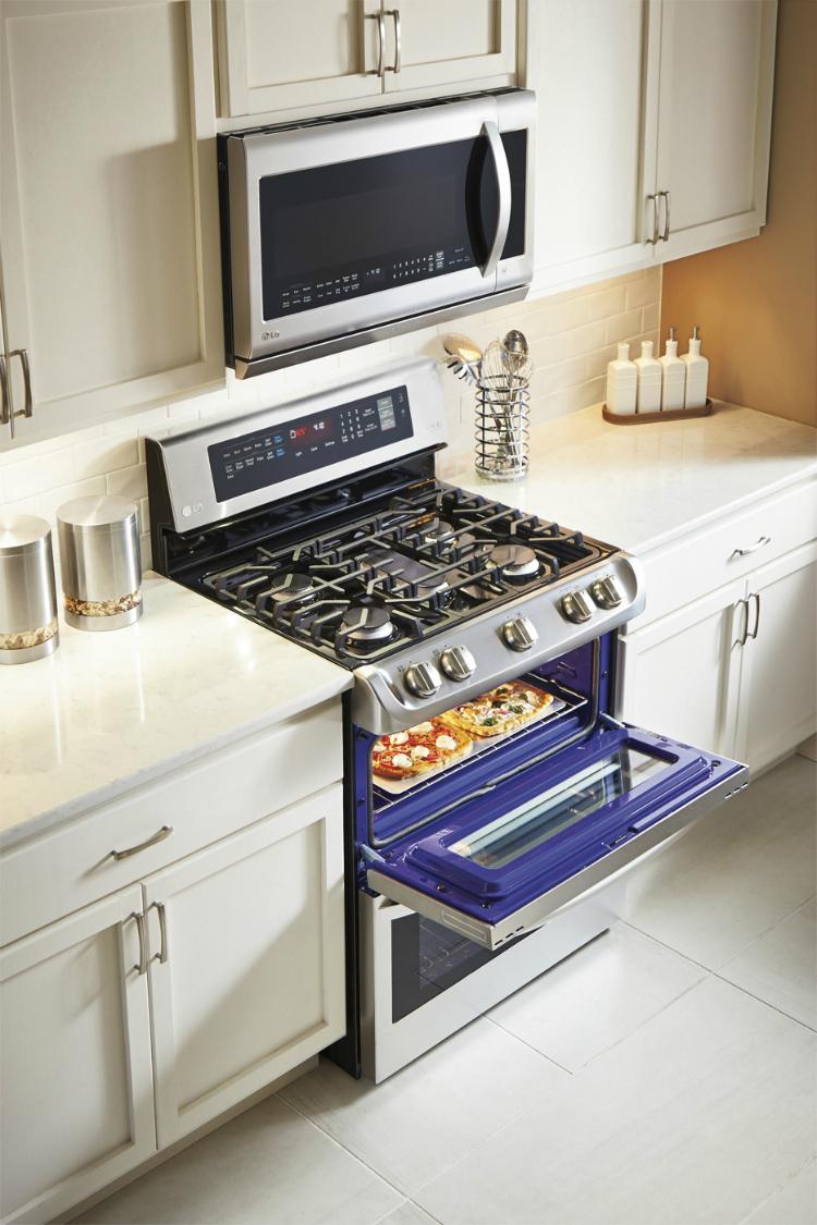 LG double oven