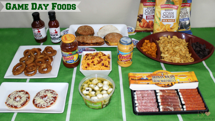 Game Day Food Table