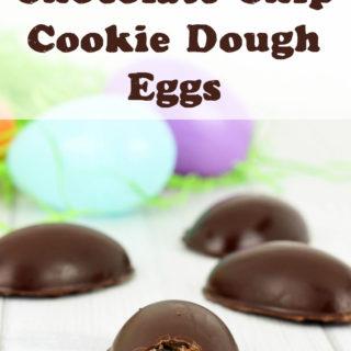 Dairy-Free Chocolate Chip Cookie Dough Eggs Recipe