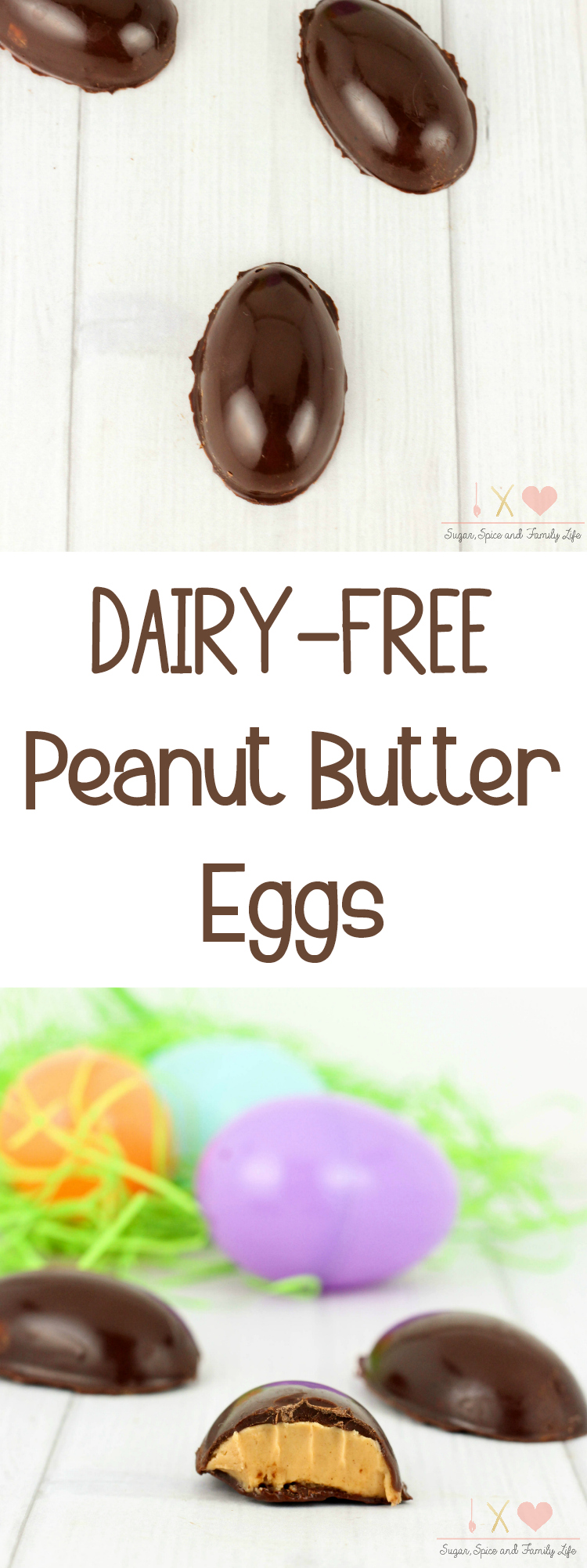 Dairy Free Peanut Butter Eggs