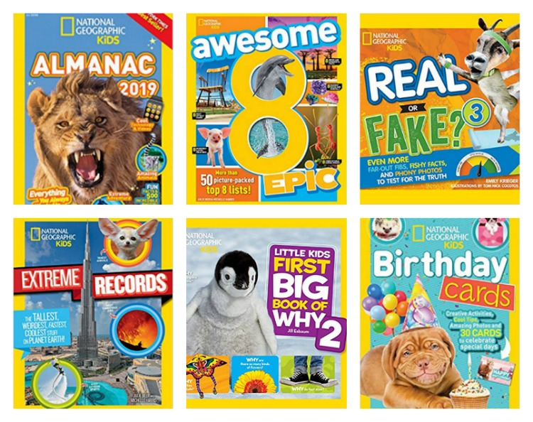 National Geographic Birthday Prize Pack