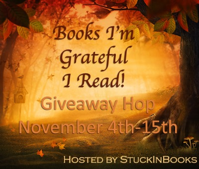 Books I'm Grateful I Read Giveaway Hop