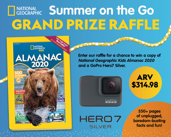 National geographic grand prize giveaway