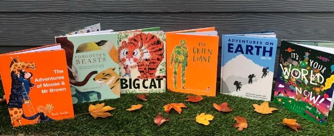 6-book Pavilion Children's library