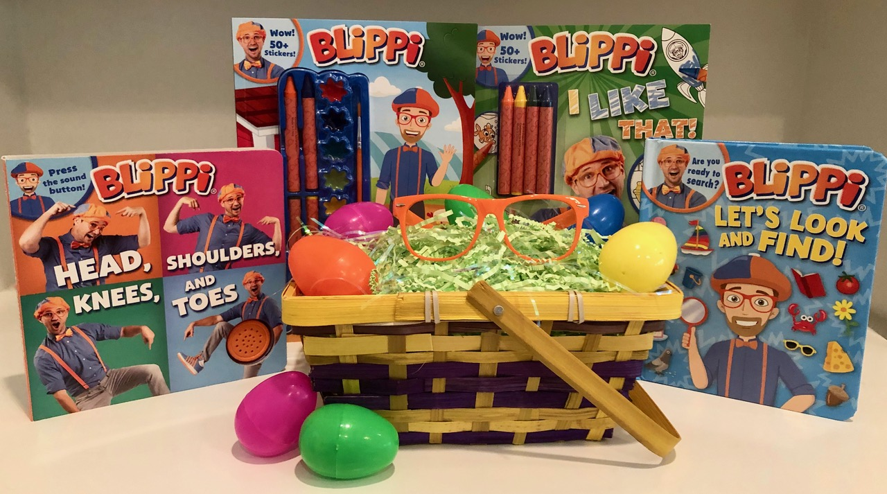 Candy-Less Blippi Basket
