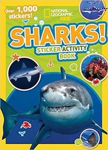 sharks sticker activity book
